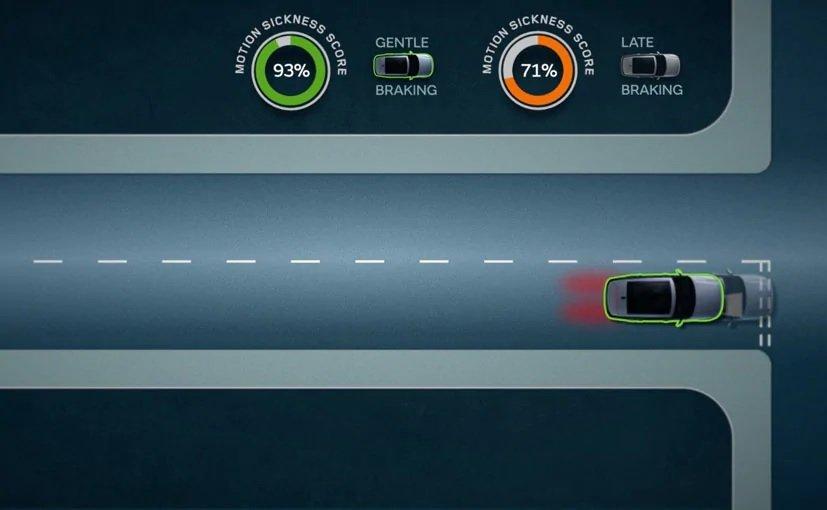 Công nghệ ô tô mới Jaguar Land Rover tự chỉnh chế độ lái tăng độ thoải mái cho người dùng.