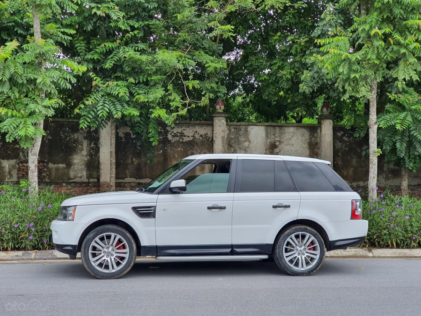 LandRover Sport Supercharged 5.0L sx 2010, màu trắng, nhập khẩu (2)