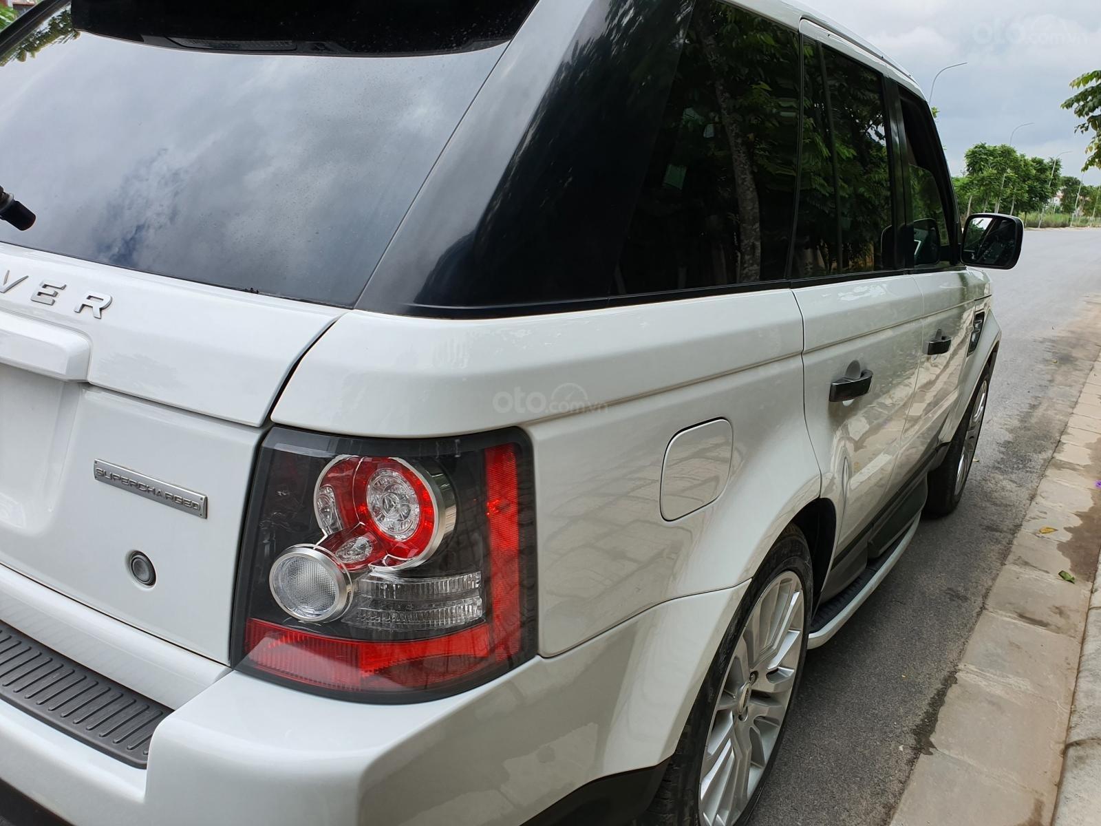 LandRover Sport Supercharged 5.0L sx 2010, màu trắng, nhập khẩu (3)