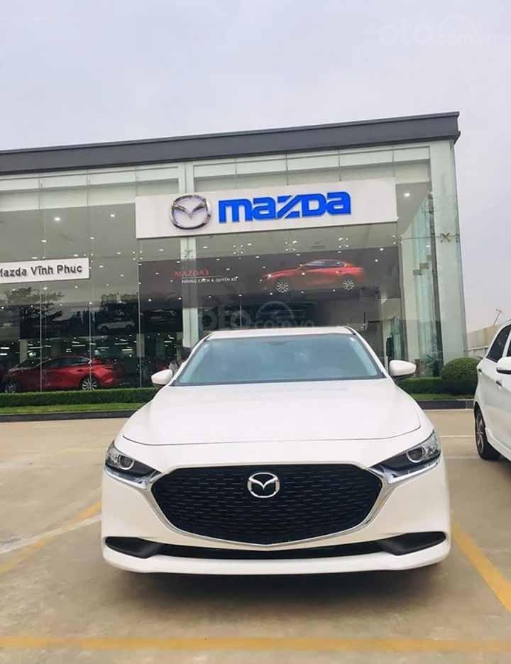 Cần bán Mazda 3 1.5 Deluxe năm 2020, màu trắng, giá 709tr (4)