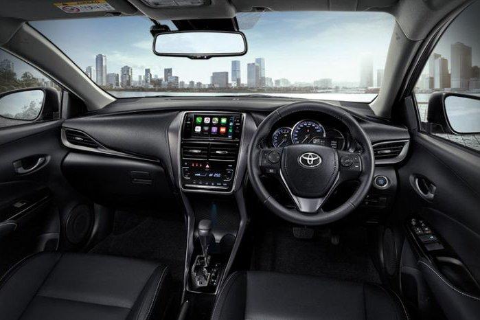 Nội thất Toyota Vios 2021.