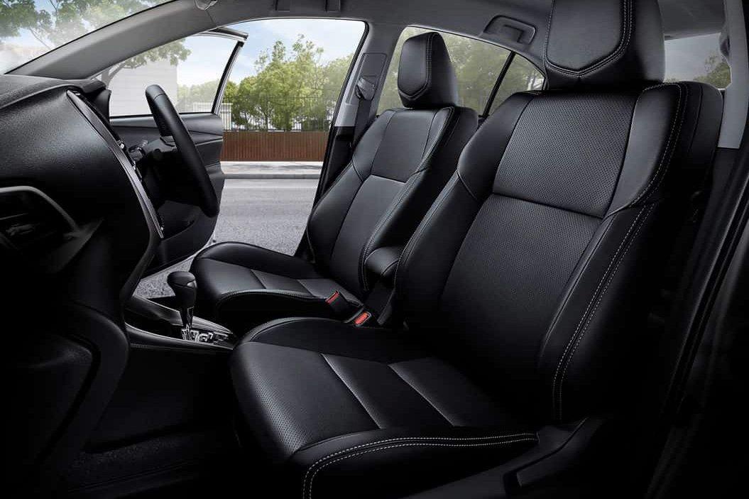Ghế trước xe Toyota Vios 2021.