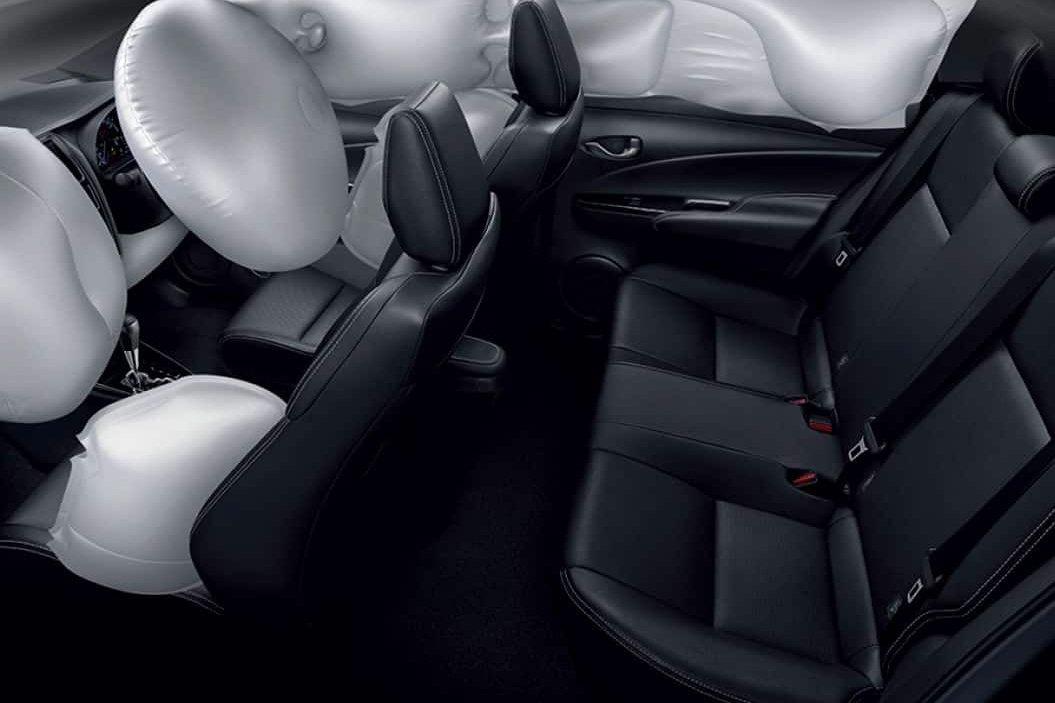 Ghế sau xe Toyota Vios 2021.