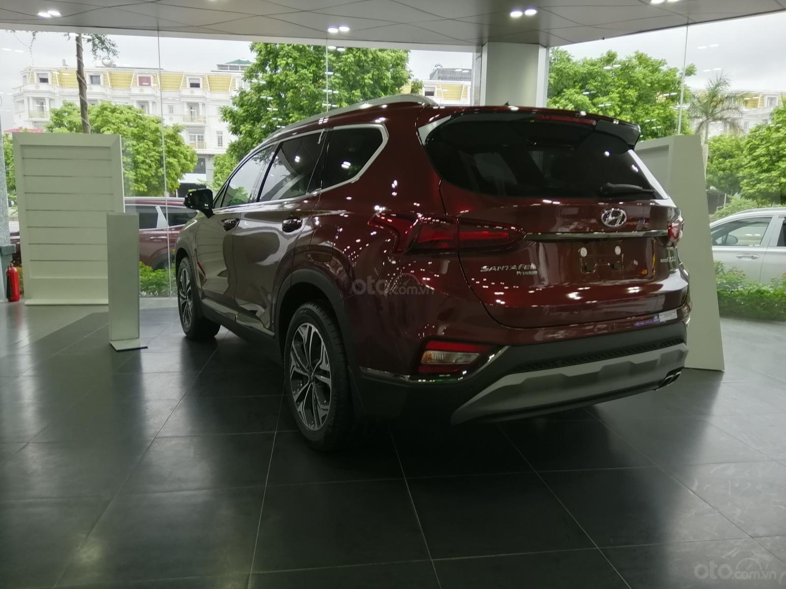 Bán Hyundai Santa Fe số tự động bản dầu cao cấp, sẵn xe, sẵn màu giao ngay, giá tốt nhất miền Bắc (3)
