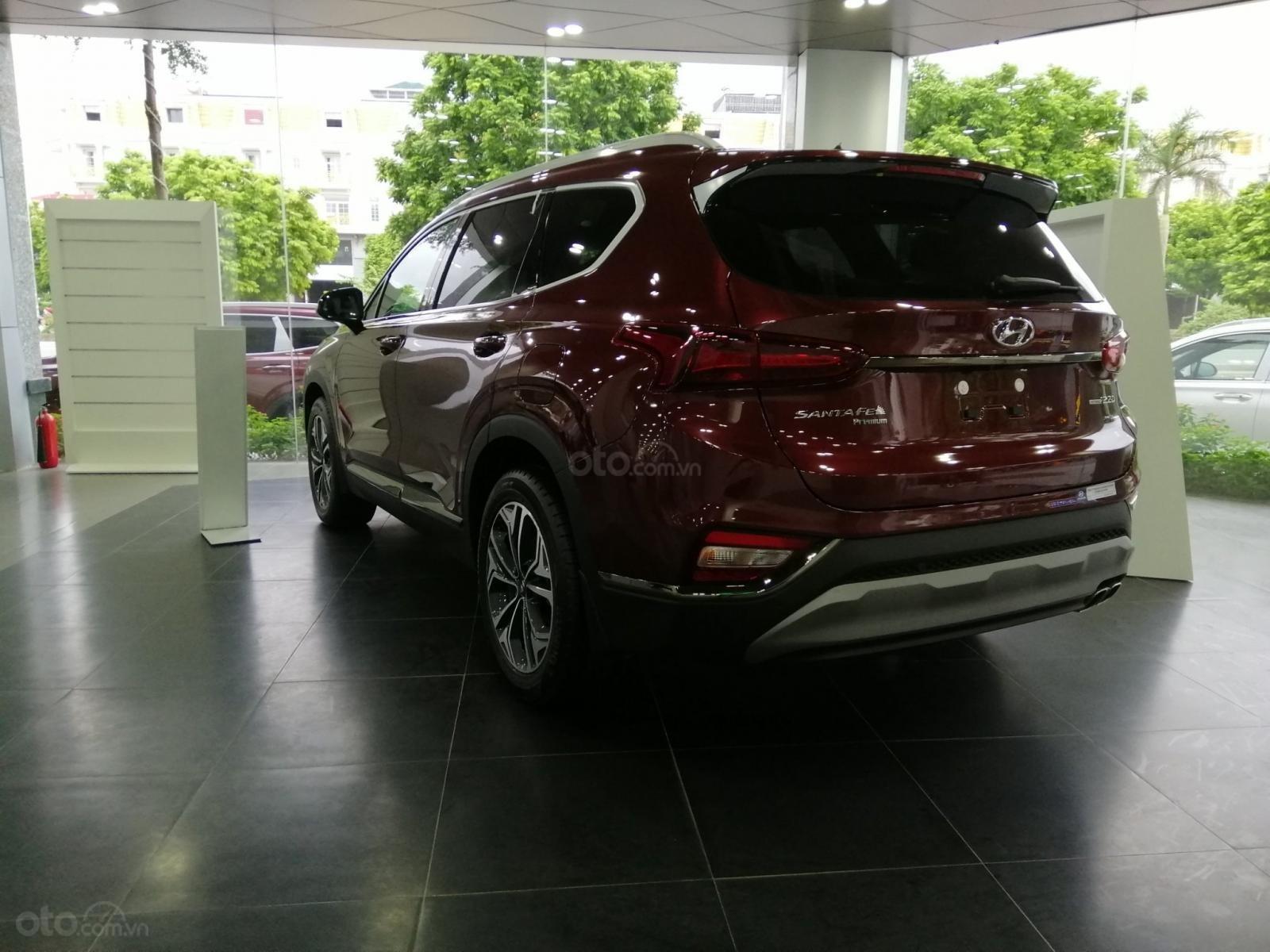 Bán Hyundai Santa Fe số tự động bản dầu cao cấp, sẵn xe, sẵn màu giao ngay, giá tốt nhất miền Bắc (7)