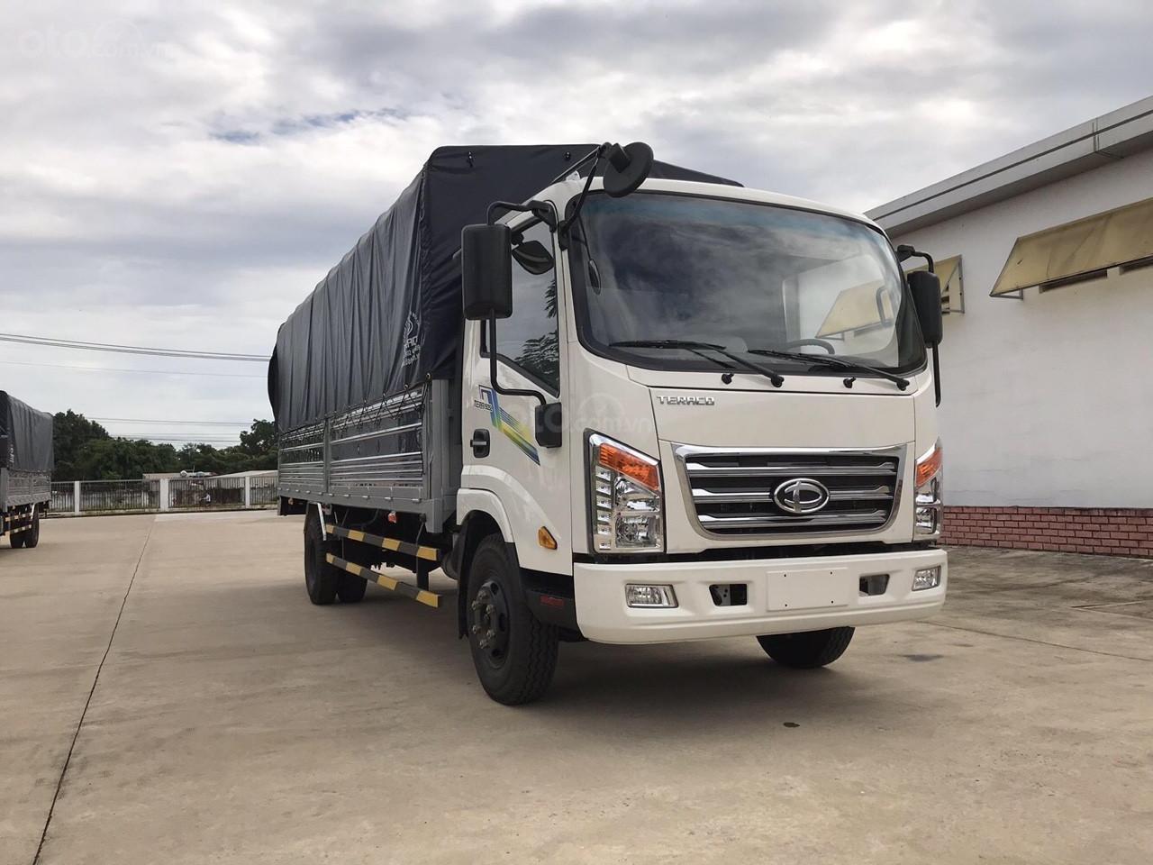 Bán xe tải 3.5 tấn Tera 345SL thùng kín, thùng lửng, thùng bạt với chiều dài thùng lên đến 6.1 mét tại Hải Phòng và Quảng Ninh
