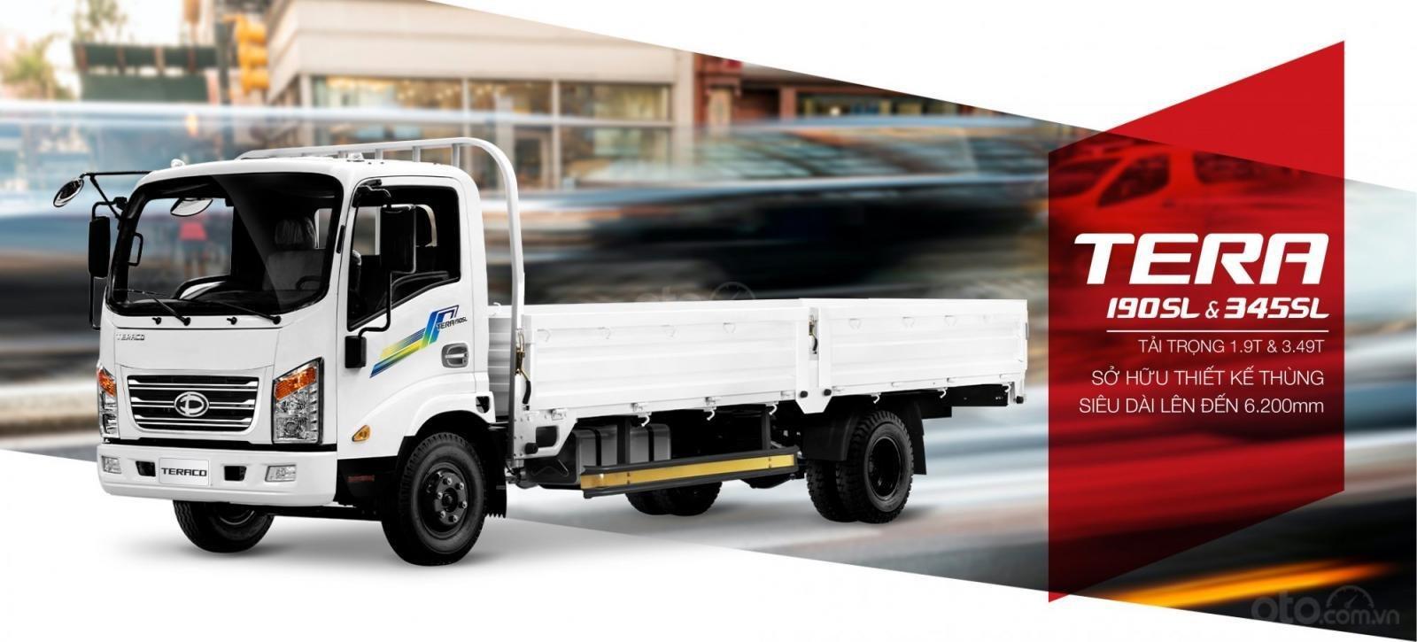 Bán xe tải 3.5 tấn Tera 345SL thùng kín, thùng lửng, thùng bạt với chiều dài thùng lên đến 6.1 mét tại Hải Phòng và Quảng Ninh (2)
