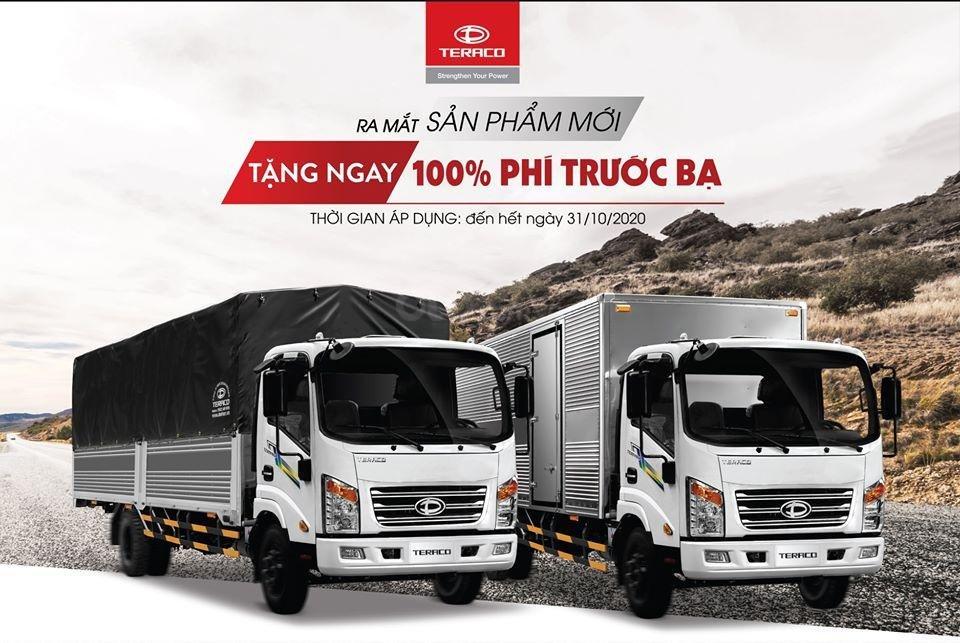 Bán xe tải 3.5 tấn Tera 345SL thùng kín, thùng lửng, thùng bạt với chiều dài thùng lên đến 6.1 mét tại Hải Phòng và Quảng Ninh (3)