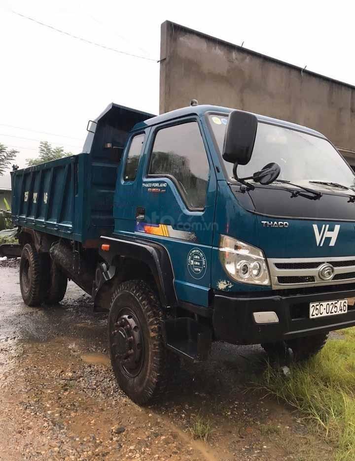 Cần bán xe tải cũ Thaco FORLAND năm sản xuất 2017, màu xanh lam (4)