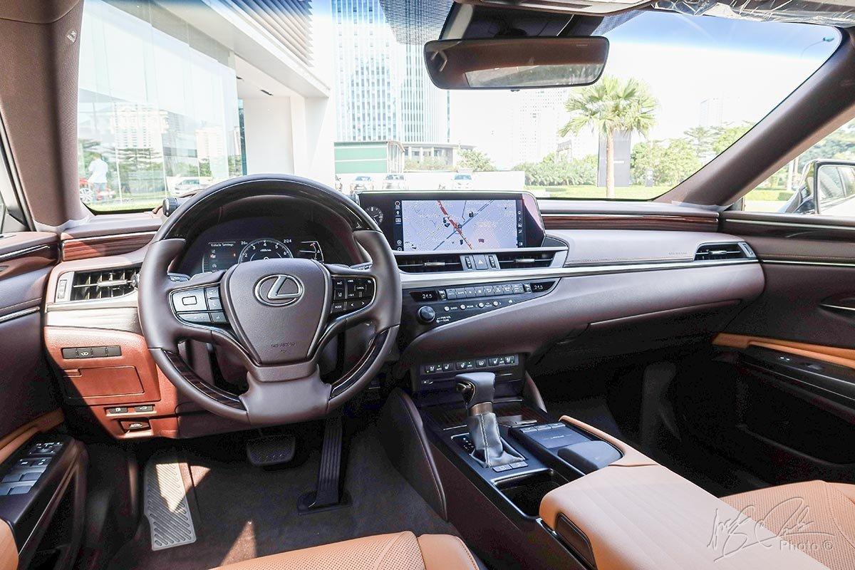 Nội thất Lexus ES 2020 mới nhất.