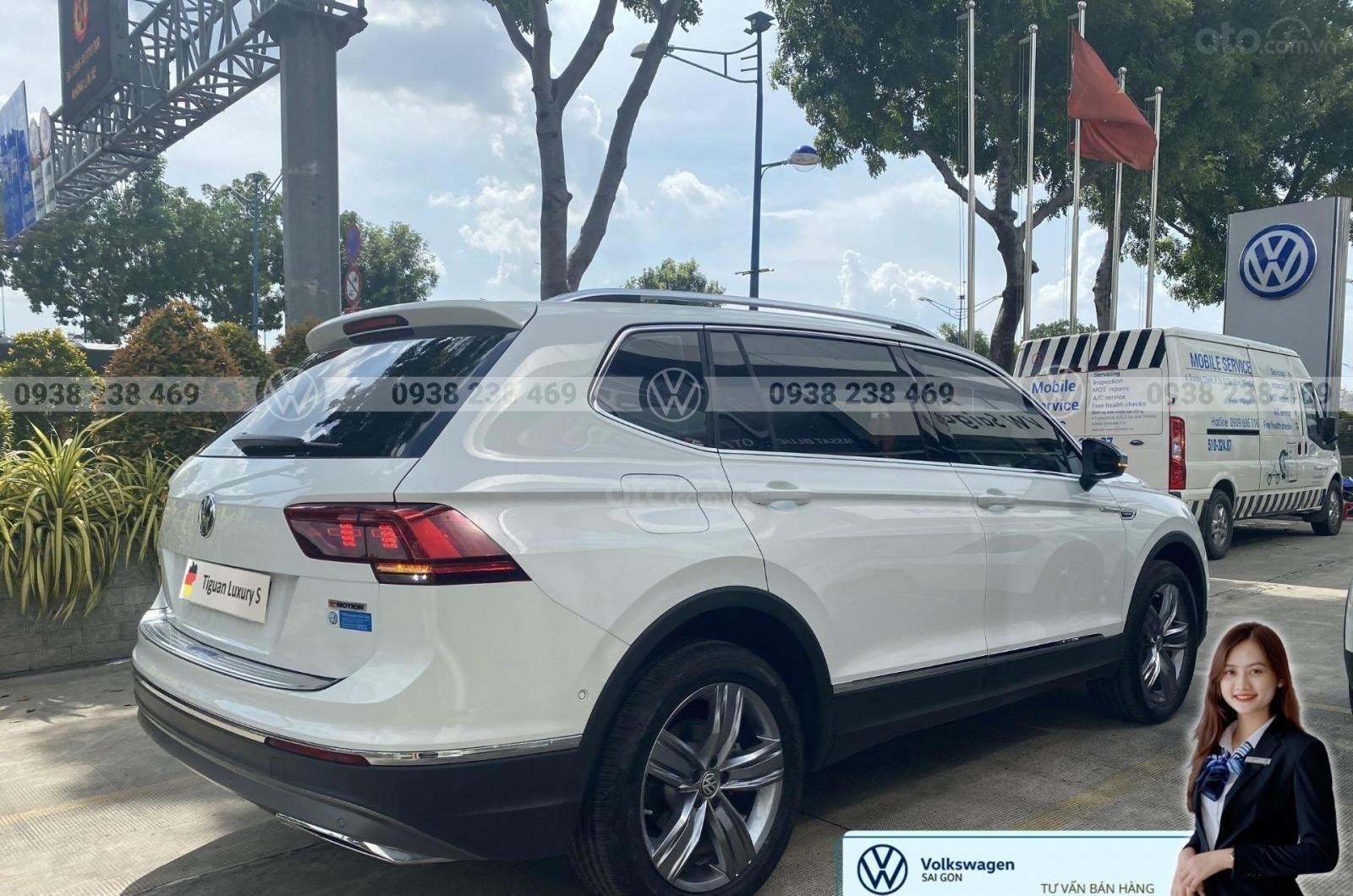 Bán Volkswagen Tiguan Luxury S màu trắng - Phiên bản Offroad - Giá tốt tháng ngâu (5)