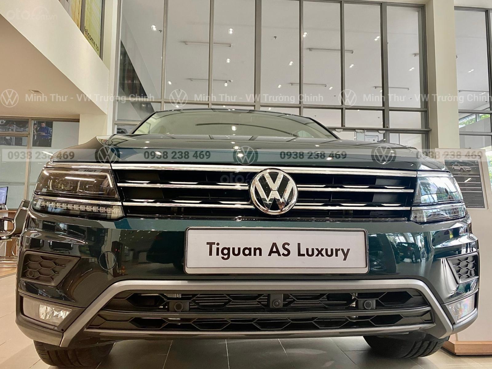 Xe Volkswagen Tiguan Luxury S màu xanh rêu - Bản cao cấp nhất 2020 Nhập khẩu (2)