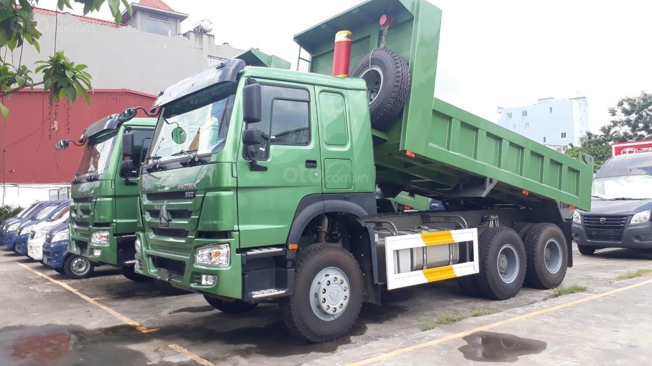 Bán xe tải Ben Howo 3 chân tải 11 tấn giá rẻ tại Hải Phòng và Quảng Ninh, Hải Dương (1)