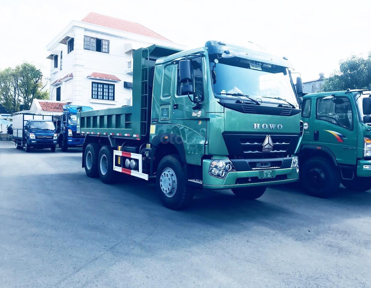 Bán xe tải Ben Howo 3 chân tải 11 tấn giá rẻ tại Hải Phòng và Quảng Ninh, Hải Dương (4)