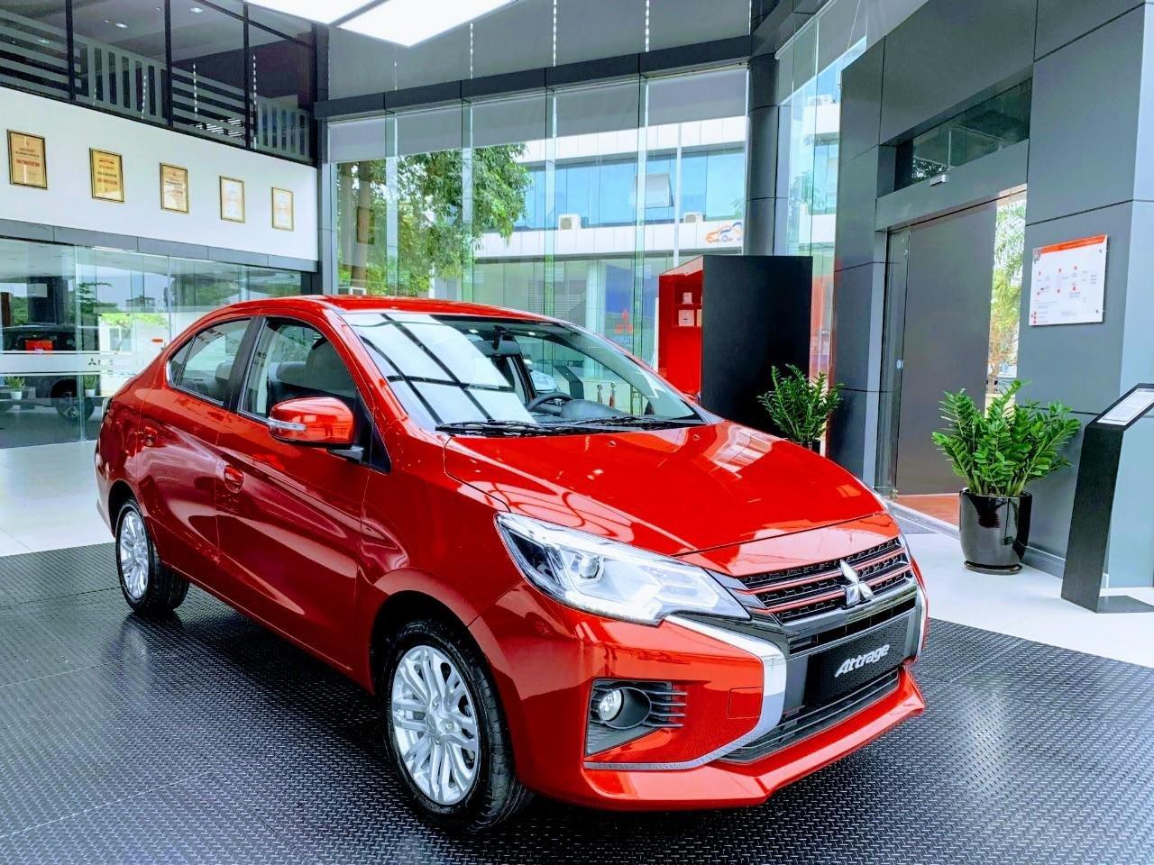 (Hot) Mitsubishi Bắc Ninh - Attrage giảm 50% thuế trước bạ, giảm tiền mặt, kèm phụ kiện chính hãng (1)