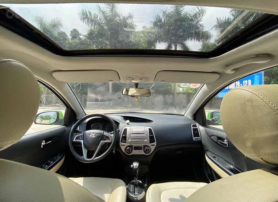 Cần bán Hyundai i20 năm 2011, màu xanh lam, nhập khẩu còn mới, giá 295tr (2)