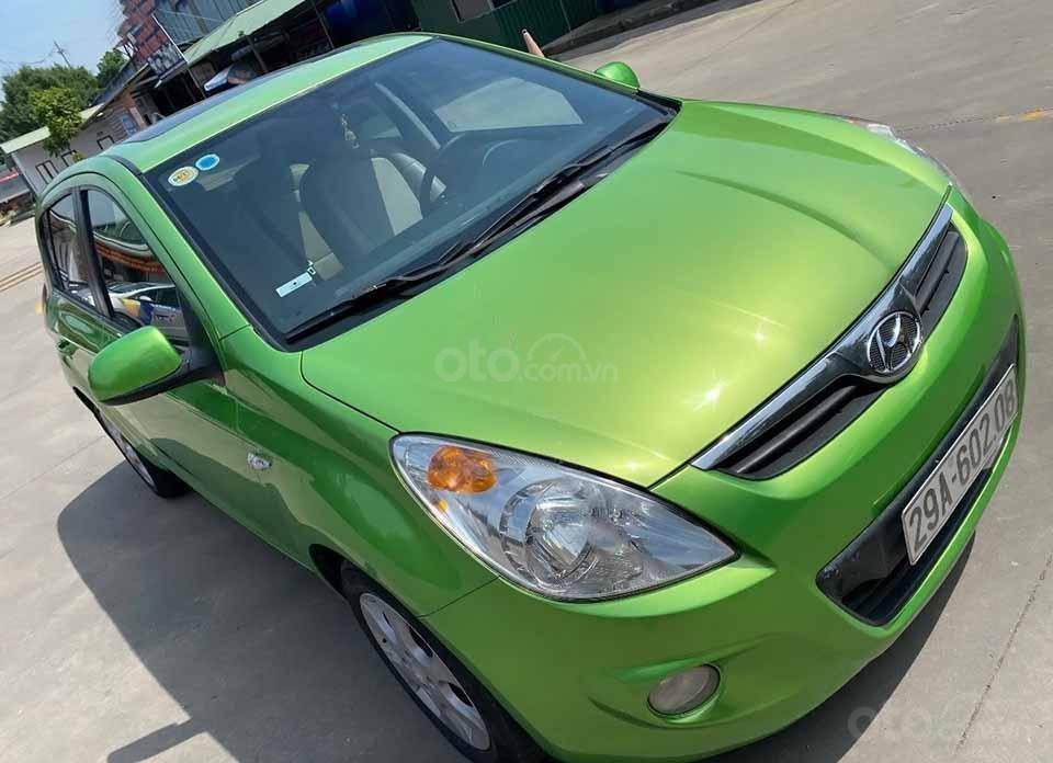 Cần bán Hyundai i20 năm 2011, màu xanh lam, nhập khẩu còn mới, giá 295tr (1)