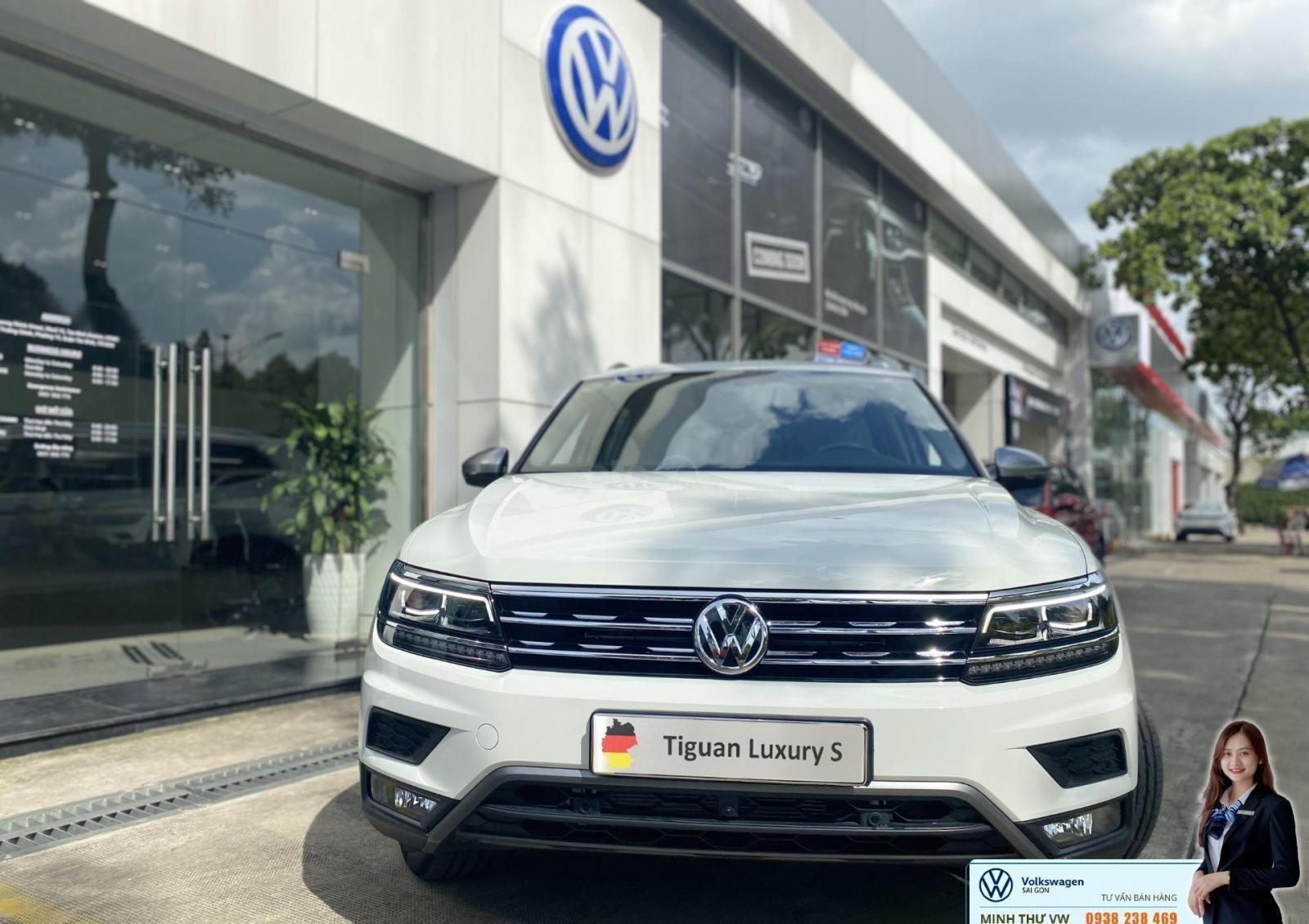 Bán Volkswagen Tiguan Luxury S màu trắng - Phiên bản Offroad - Giá tốt tháng ngâu (8)