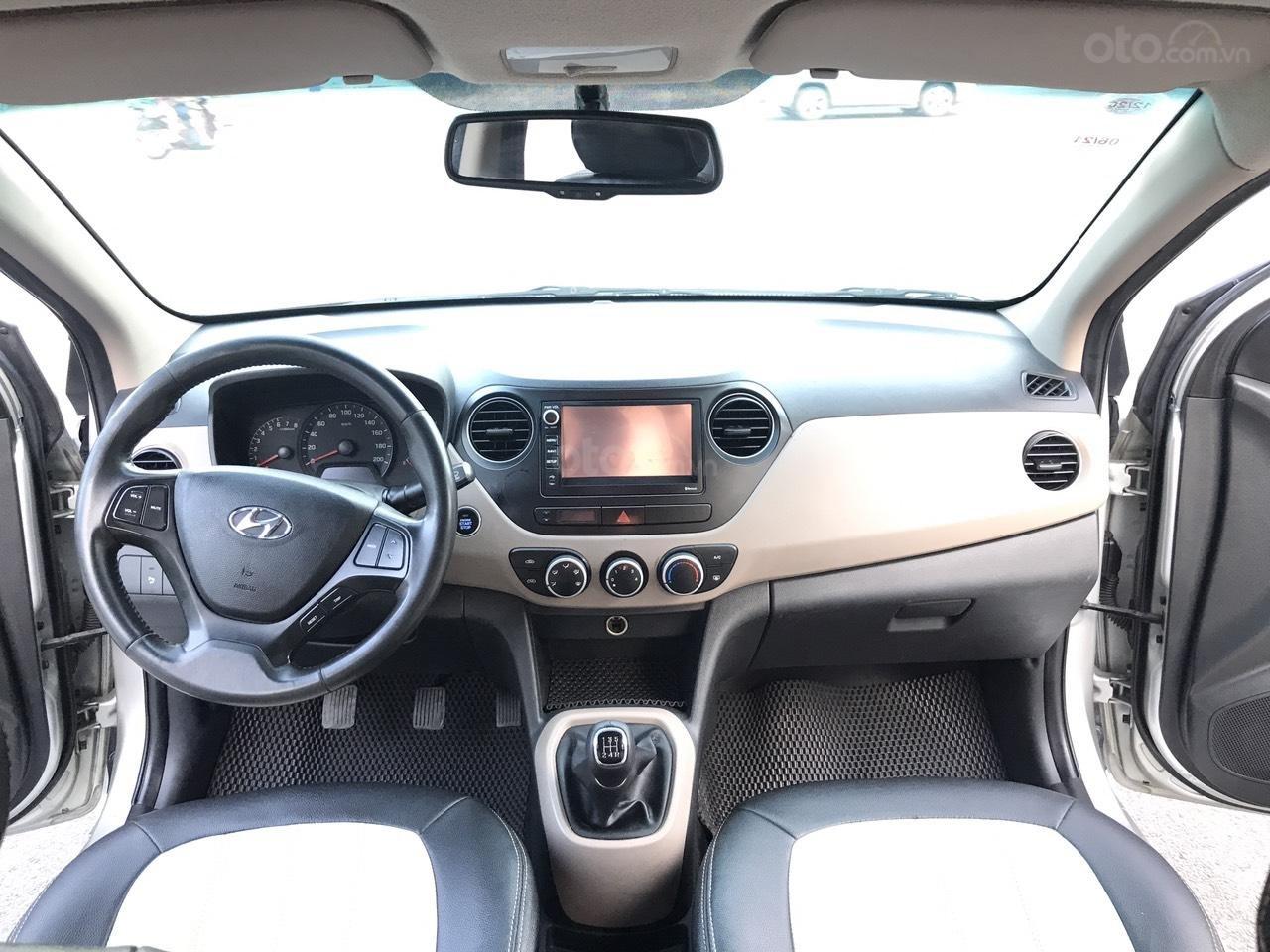 Hyundai Grand i10 1.2 Sport 2016, màu bạc, nhập khẩu, 1 chủ từ mới, bản full kịch đồ, xe quá chất lượng (5)