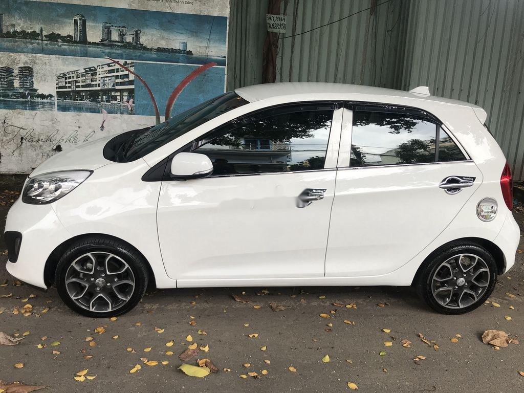 Bán Kia Picanto sản xuất năm 2014, màu trắng số tự động, bản đủ (4)