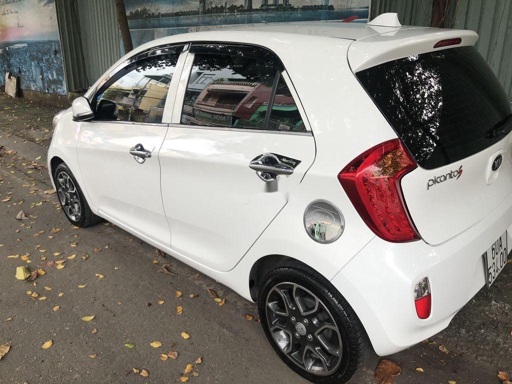 Bán Kia Picanto sản xuất năm 2014, màu trắng số tự động, bản đủ (5)