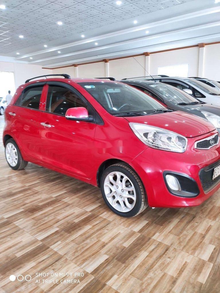Bán Kia Picanto sản xuất 2014, màu đỏ, xe nhập còn mới, giá tốt (2)