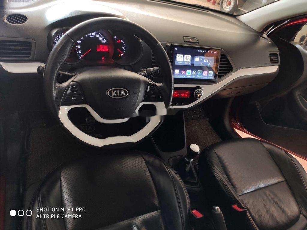 Bán Kia Picanto sản xuất 2014, màu đỏ, xe nhập còn mới, giá tốt (9)