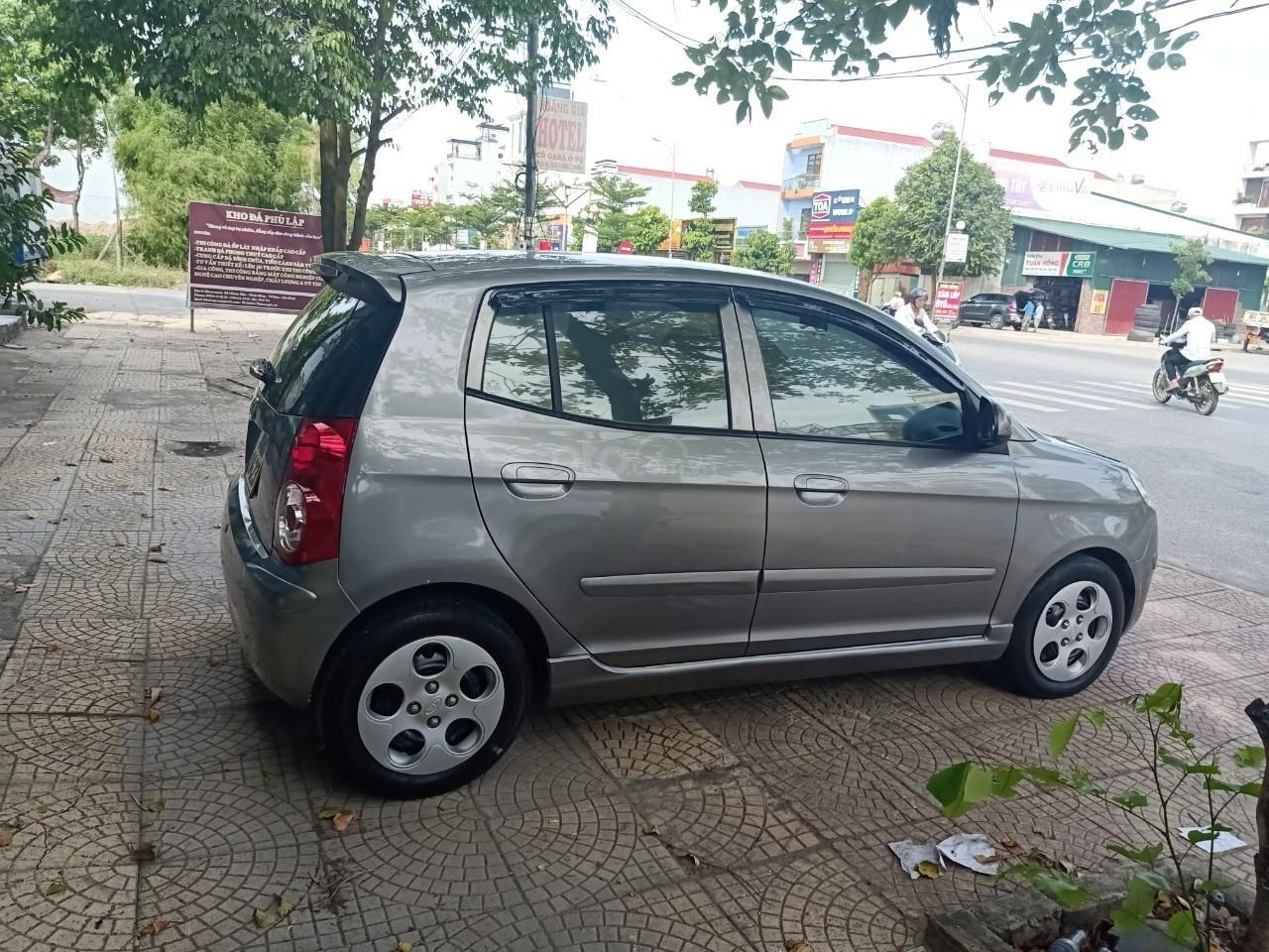 Cần bán lại xe Kia Picanto năm sản xuất 2007, màu xám, xe nhập còn mới, giá chỉ 170 triệu (2)