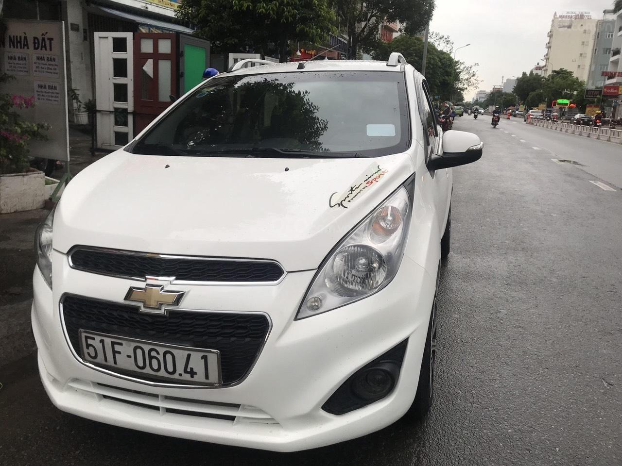 Cần bán lại xe Chevrolet Spark, số tự động, sản xuất năm 2015 giá 225tr (1)