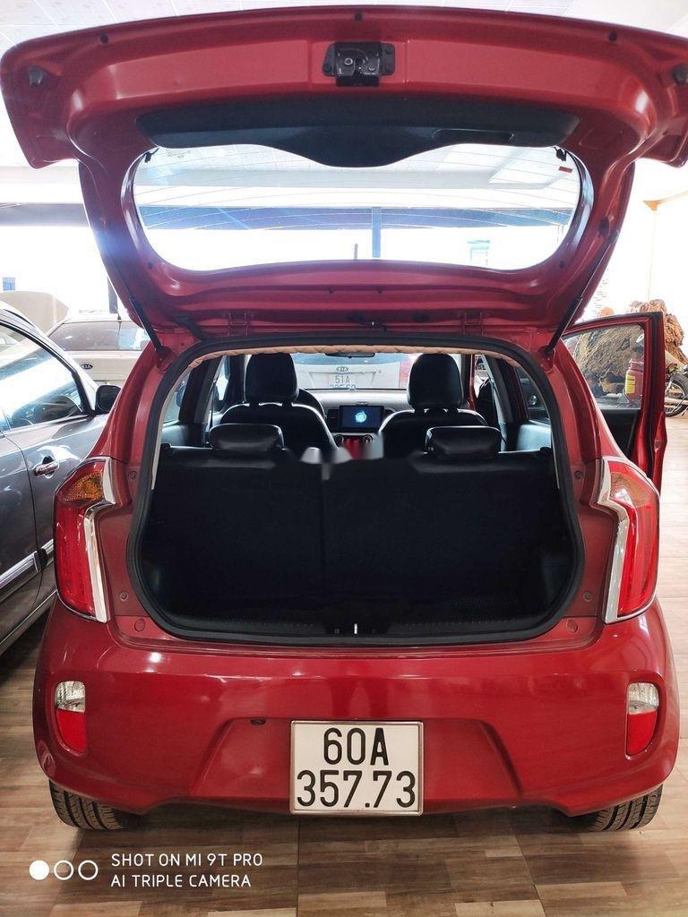 Bán Kia Picanto sản xuất 2014, màu đỏ, xe nhập còn mới, giá tốt (5)