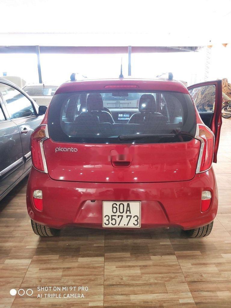 Bán Kia Picanto sản xuất 2014, màu đỏ, xe nhập còn mới, giá tốt (4)