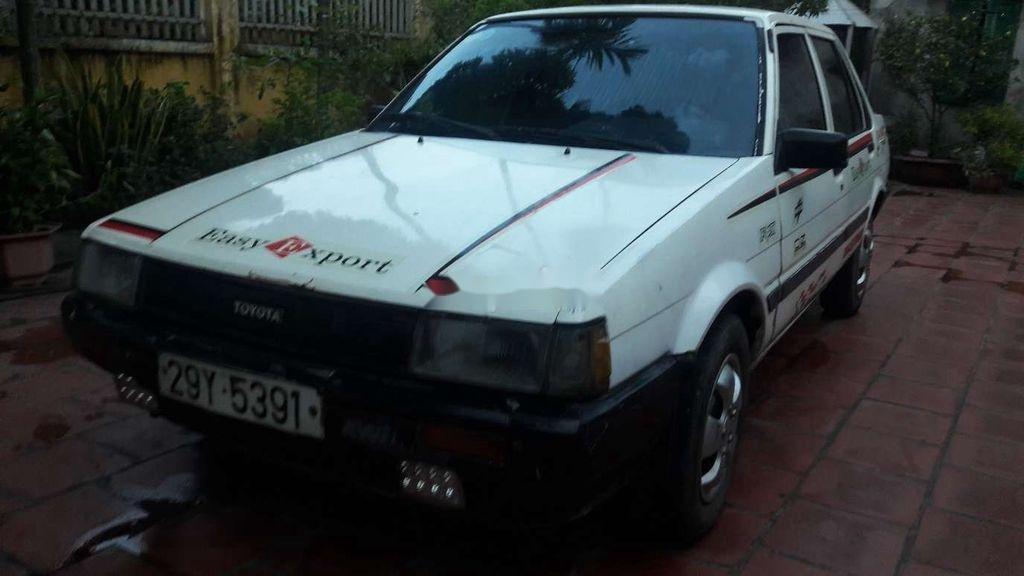 Bán lại xe tập lái Toyota Corona năm 1985, màu trắng, nhập khẩu (1)