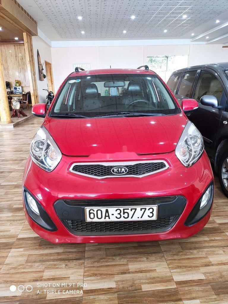Bán Kia Picanto sản xuất 2014, màu đỏ, xe nhập còn mới, giá tốt (1)