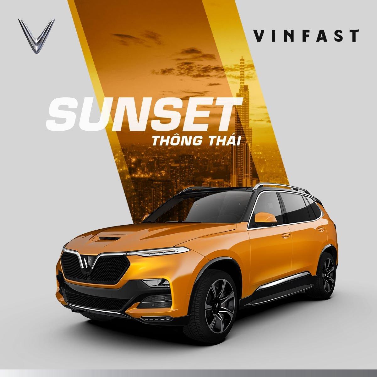 VinFast President màu vàng Ocean.