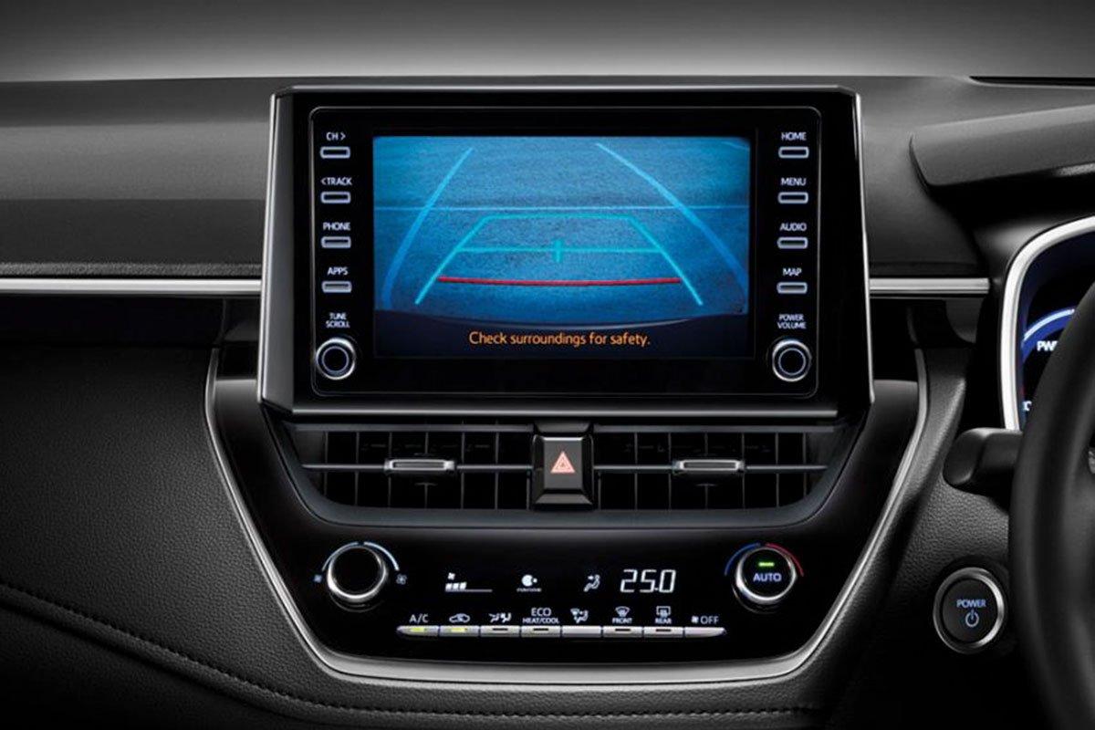 Ảnh chụp  an toàn xe Toyota Corolla Altis 2020