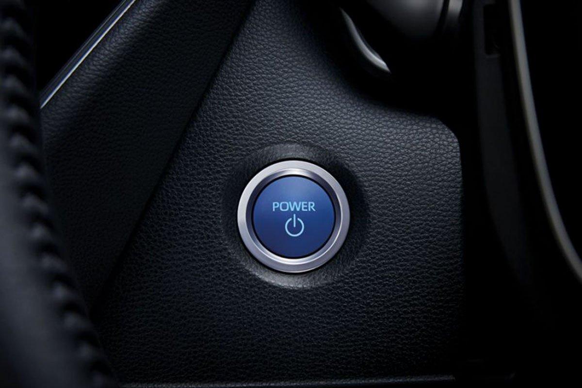 Ảnh Nút khởi động xe Toyota Corolla Altis 2021