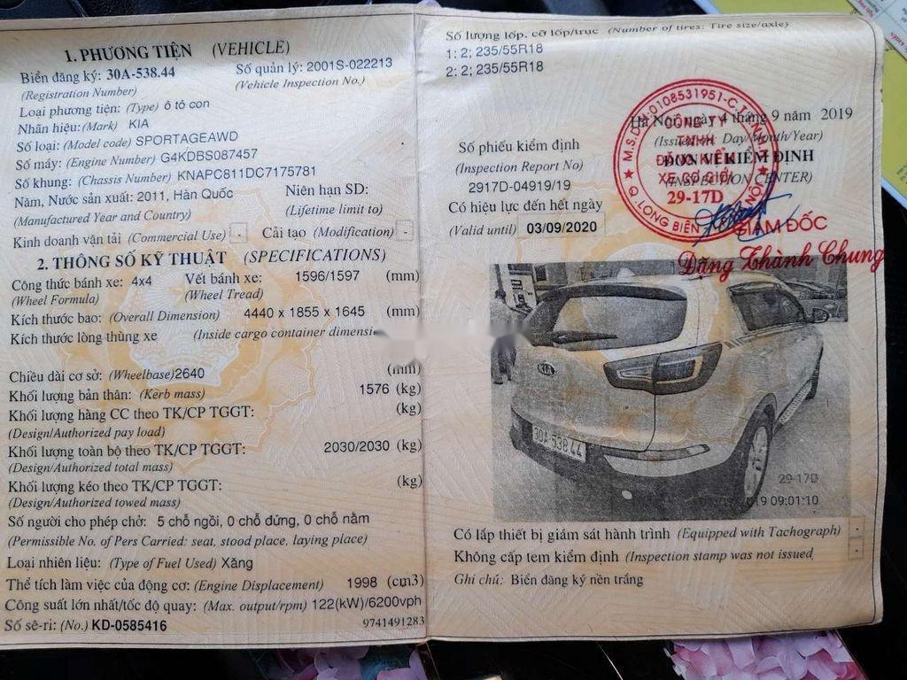 Bán xe Kia Sportage năm sản xuất 2011, xe nhập, số tự động (10)