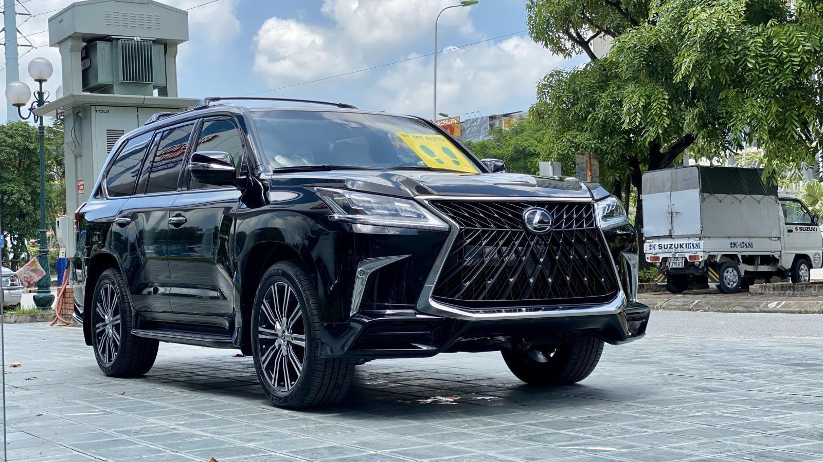 Bán Lexus LX 570s Supper Sport SX 2020, màu đen nội thất kem, xe nhập Mỹ mới 100% (7)