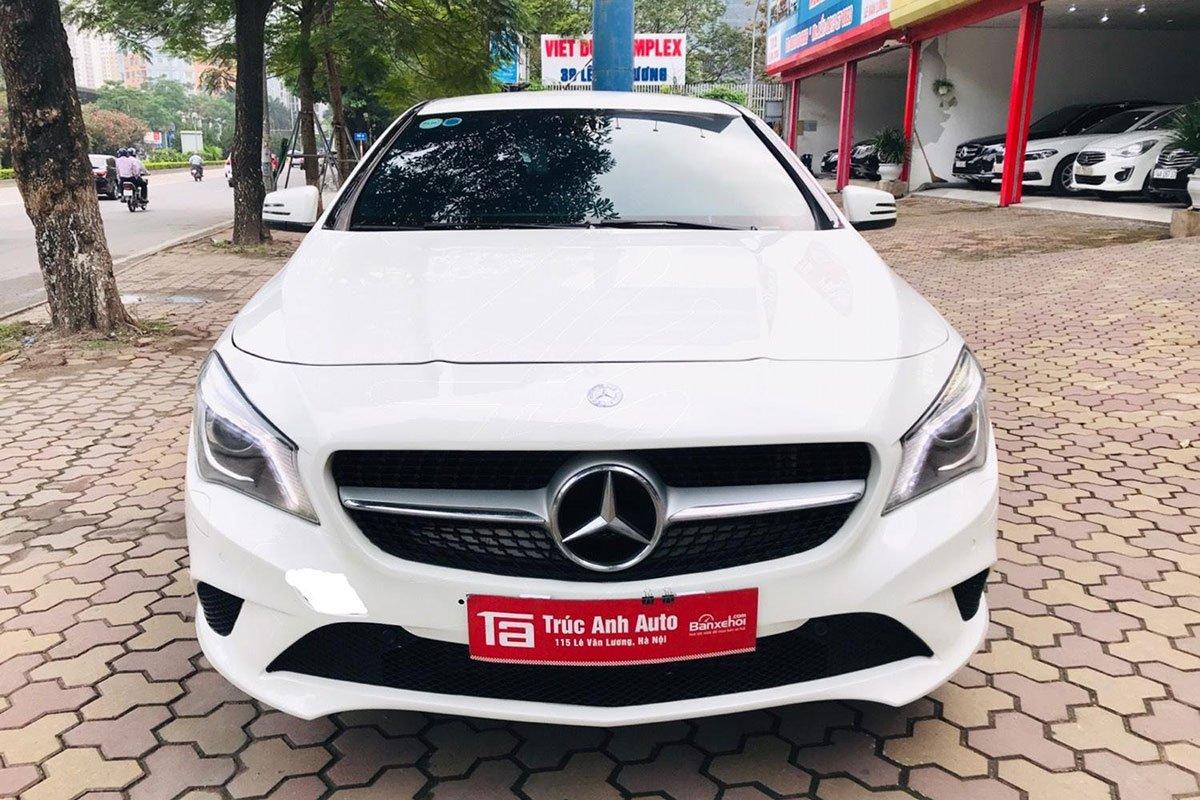 Thiết kế đầu xe Mercedes-Benz CLA 200 2017 1