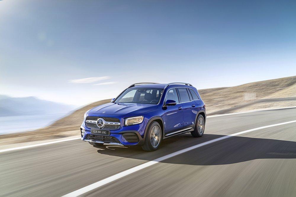 Giá xe Mercedes-Benz GLB 2021.