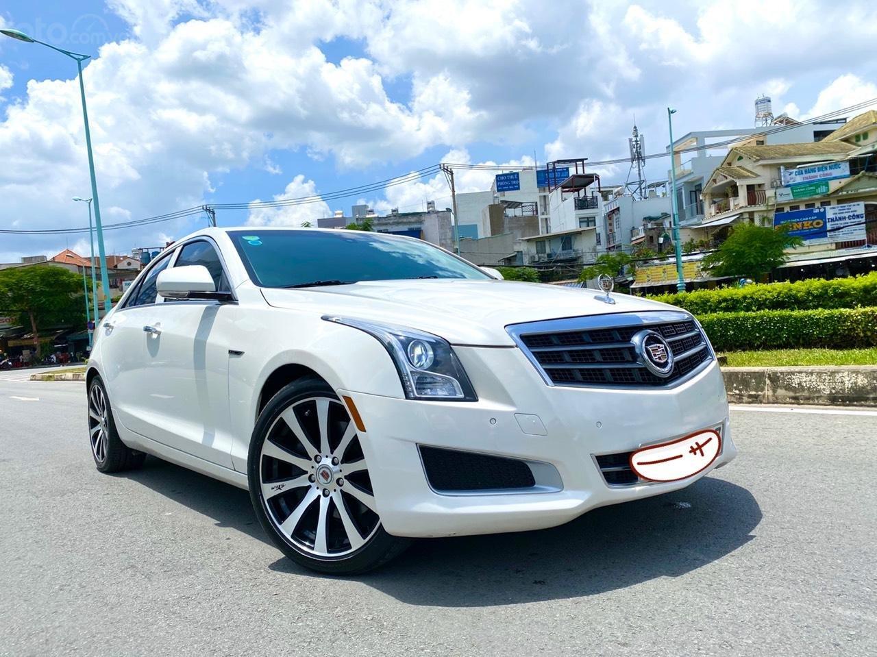 Cadillac CTS Luxury 2.0 nhập Mỹ 2015, loại cao cấp, full đồ chơi, màn hình cảm ứng, chìa khóa thông minh, nội thất sang trọng (1)