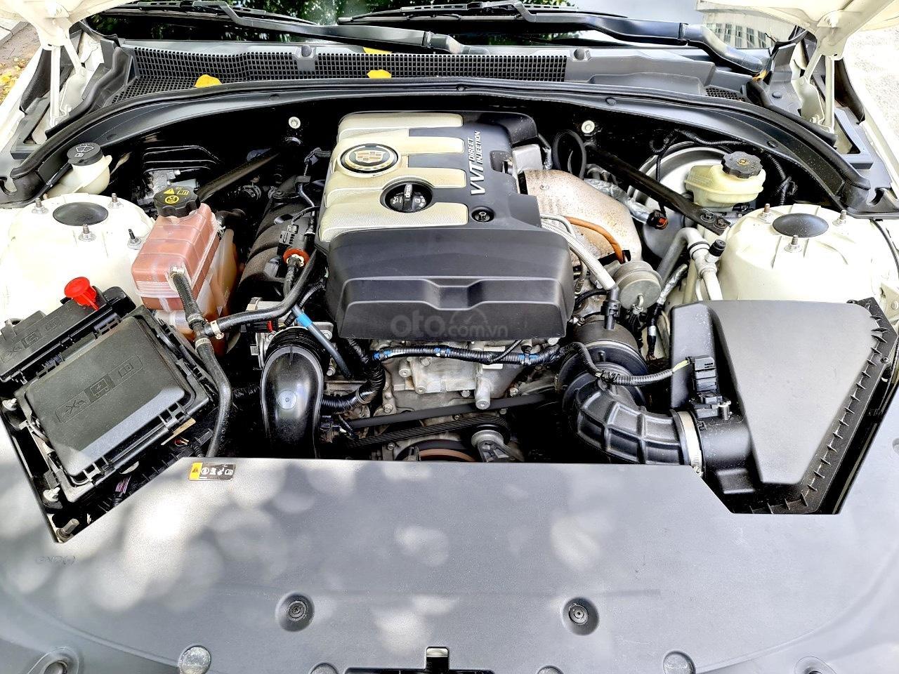 Cadillac CTS Luxury 2.0 nhập Mỹ 2015, loại cao cấp, full đồ chơi, màn hình cảm ứng, chìa khóa thông minh, nội thất sang trọng (5)