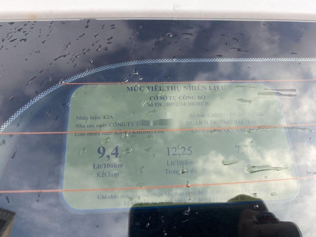 Bán Kia Carens sản xuất năm 2011, màu trắng, giá chỉ 258 triệu (11)