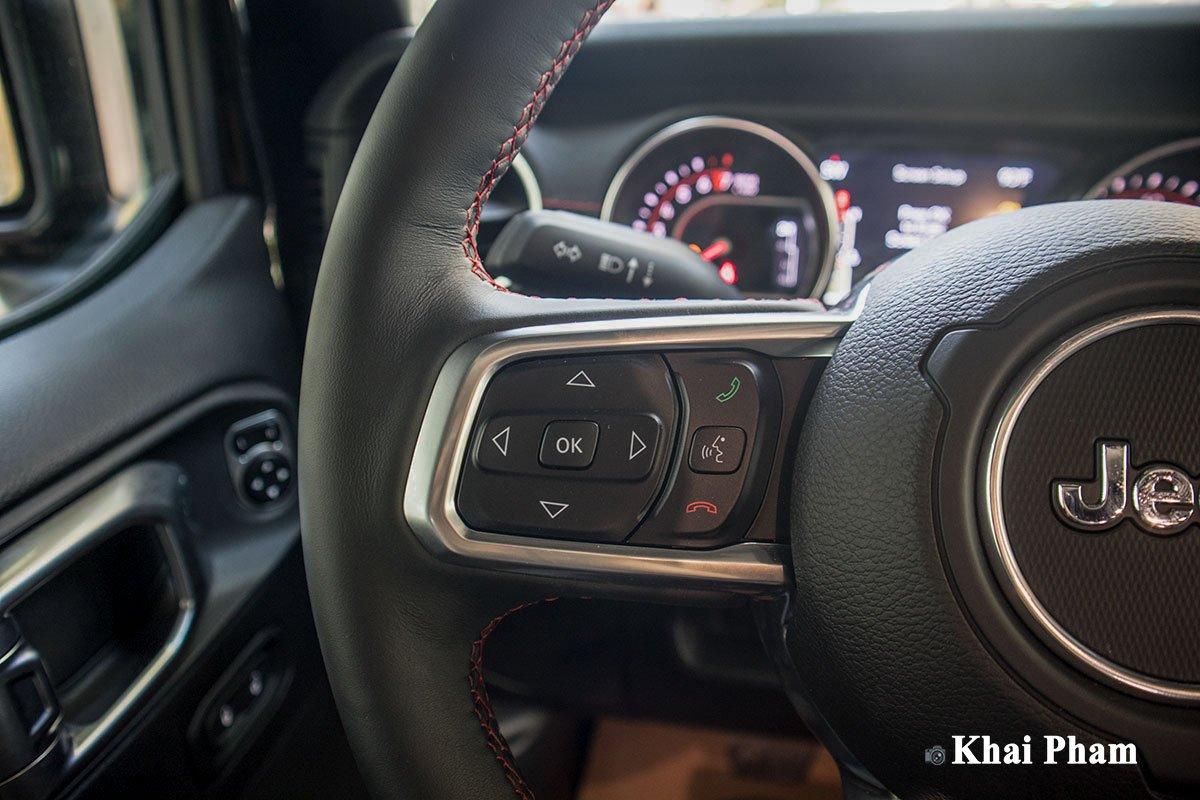Ảnh Nút bấm xe Jeep Gladiator 2020