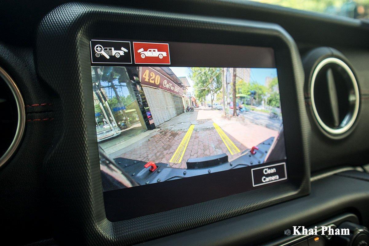 Ảnh Camera xe Jeep Gladiator 2020