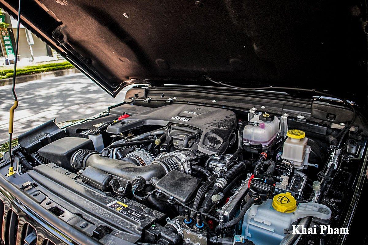 Ảnh Động cơ xe Jeep Gladiator 2020
