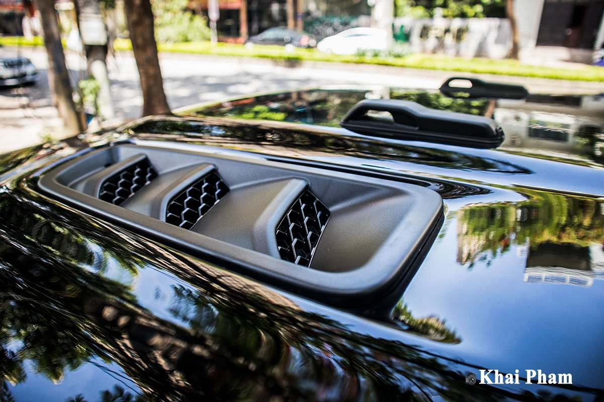Ảnh Khe gió xe Jeep Gladiator 2020