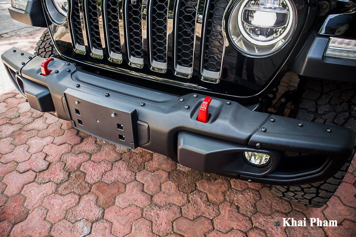 Ảnh Cản trước xe Jeep Gladiator 2020