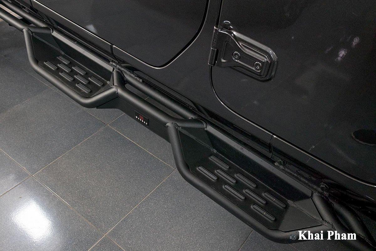 Ảnh Bậc bước chân xe Jeep Wrangler 2020