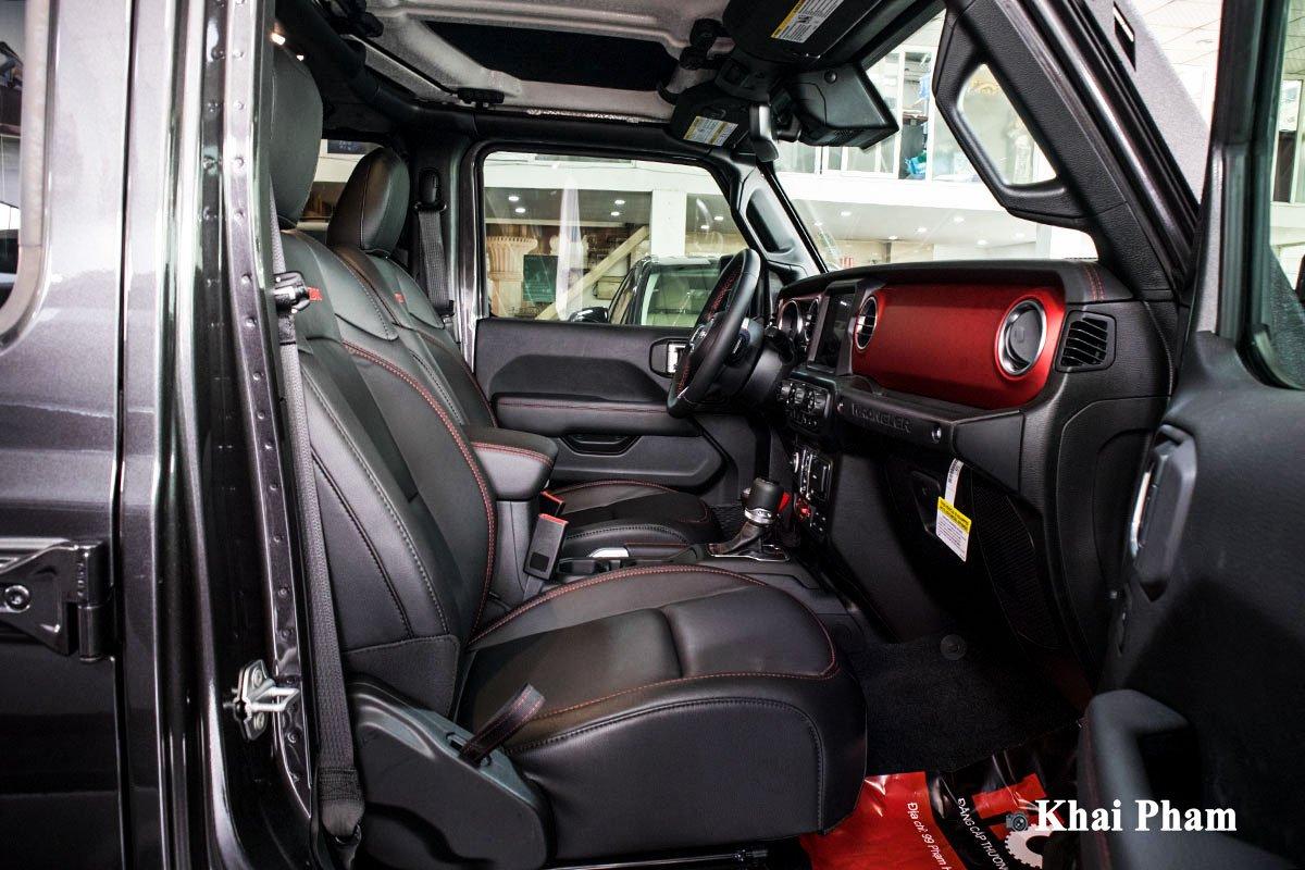 Ảnh Ghế phụ xe Jeep Wrangler 2020 a1